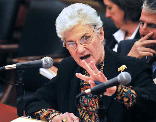 Lynne Abraham, seen here in a 2010 file photo, has no interest in pursuing the office of state attorney general next year.