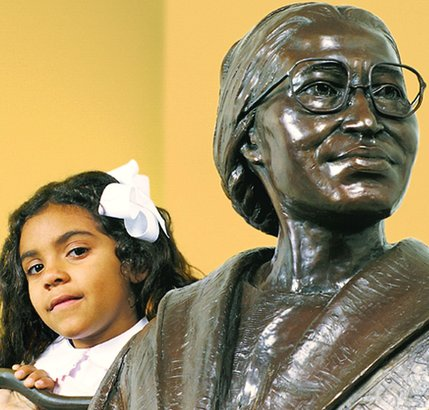 Karen E. Quinones Miller says the late Rosa Parks meets her definition of an angry black woman.