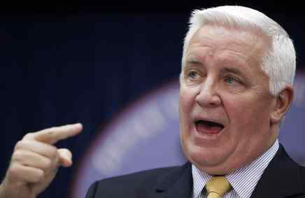 Tom Corbett , Pennsylvania´s attorney general, and officials from 13 other states filed suit yesterday to stop the health-care overhaul. A9.