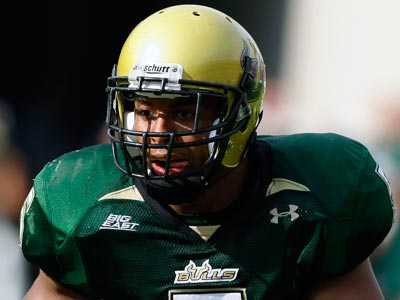 The Eagles selected Nate Allen from South Florida with the 37th pick in the 2010 draft. (AP Photo/Chris O´Meara)