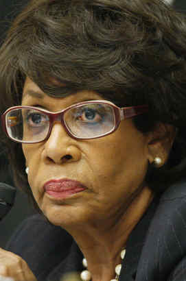 Rep. Maxine Waters (D., Calif.) says she did not violate House ethics rules.