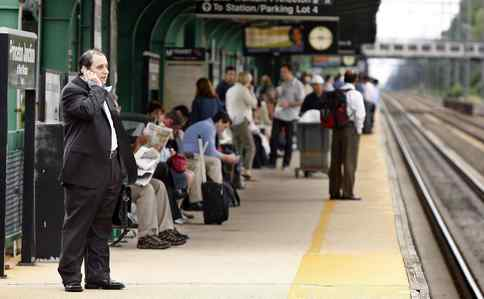 Power problems delayed Amtrak, SEPTA, NJ Transit and other rail services Tuesday morning for more than an hour. Princeton Junction was among the many Northeast Corridor stops where passengers waited. Story and more photos, B2.