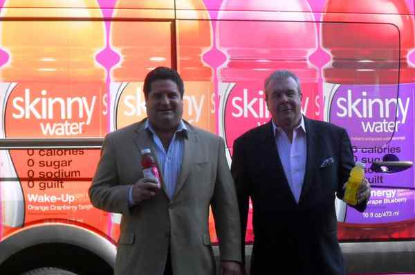 "Skinny Water founders Michael Salaman (left) and Donald McDonald said in 2010 that they were trying to boost sales and raise capital. ""We´re two guys from Philadelphia who are taking on the Cokes and Pepsis of the world,"" McDonald said."
