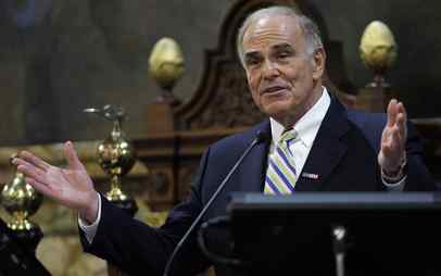 "Gov. Rendell, a proponent of the death penalty, says appeals should be processed faster. ""It´s very frustrating,"" he said."