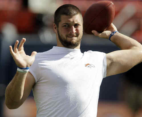 Denver rookie quarterback Tim Tebow already is a marketing force before he has played a regular-season game.