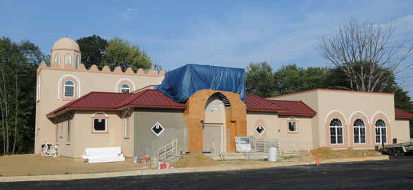 This masjid, the future homefor the area´s Dawoodi Bohra Muslim community, is nearly complete in Cherry Hill.