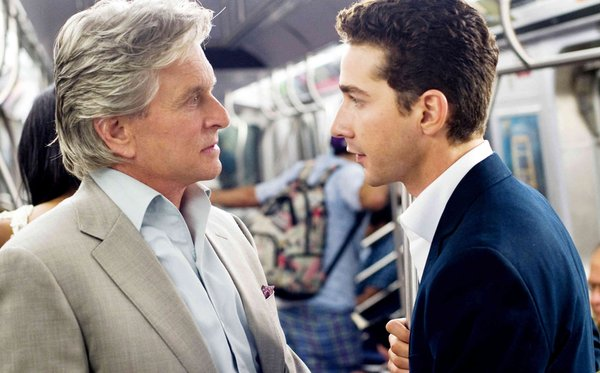 Michael Douglas reprises his role as financier Gordon Gekko, and Shia LaBeouf plays idealistic stock analyst Jake Moore.