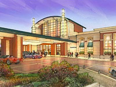 A rendering of the planned Foxwoods Casino. The Pa. Gaming Commission revoked the gaming license. (www.foxwoodspa.com)