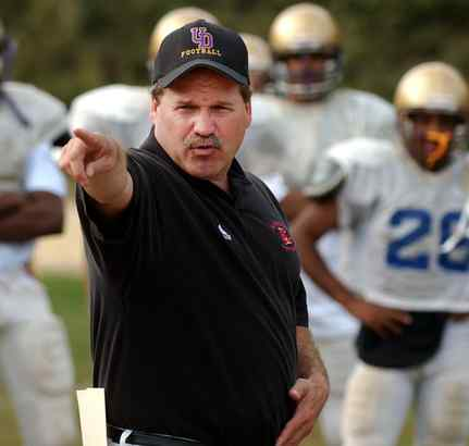 Upper Darby coach Rich Gentile says spread offense didn´t work.