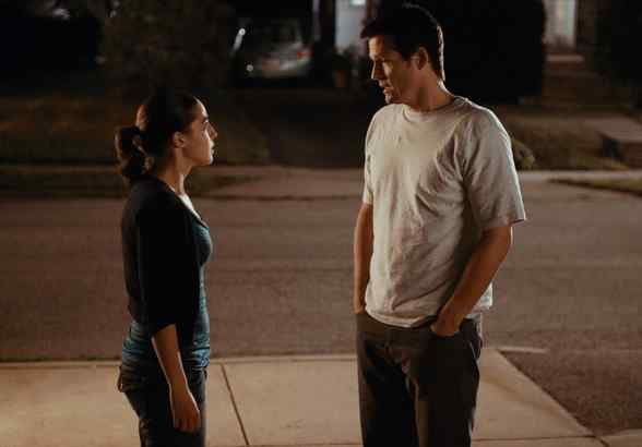 "Rachel Kitson and Josh Hopkins in a scene from ""Lebanon, Pa."" He plays an adman from Philadelphia; she wants to leave small-town life behind and move to the city to attend college."