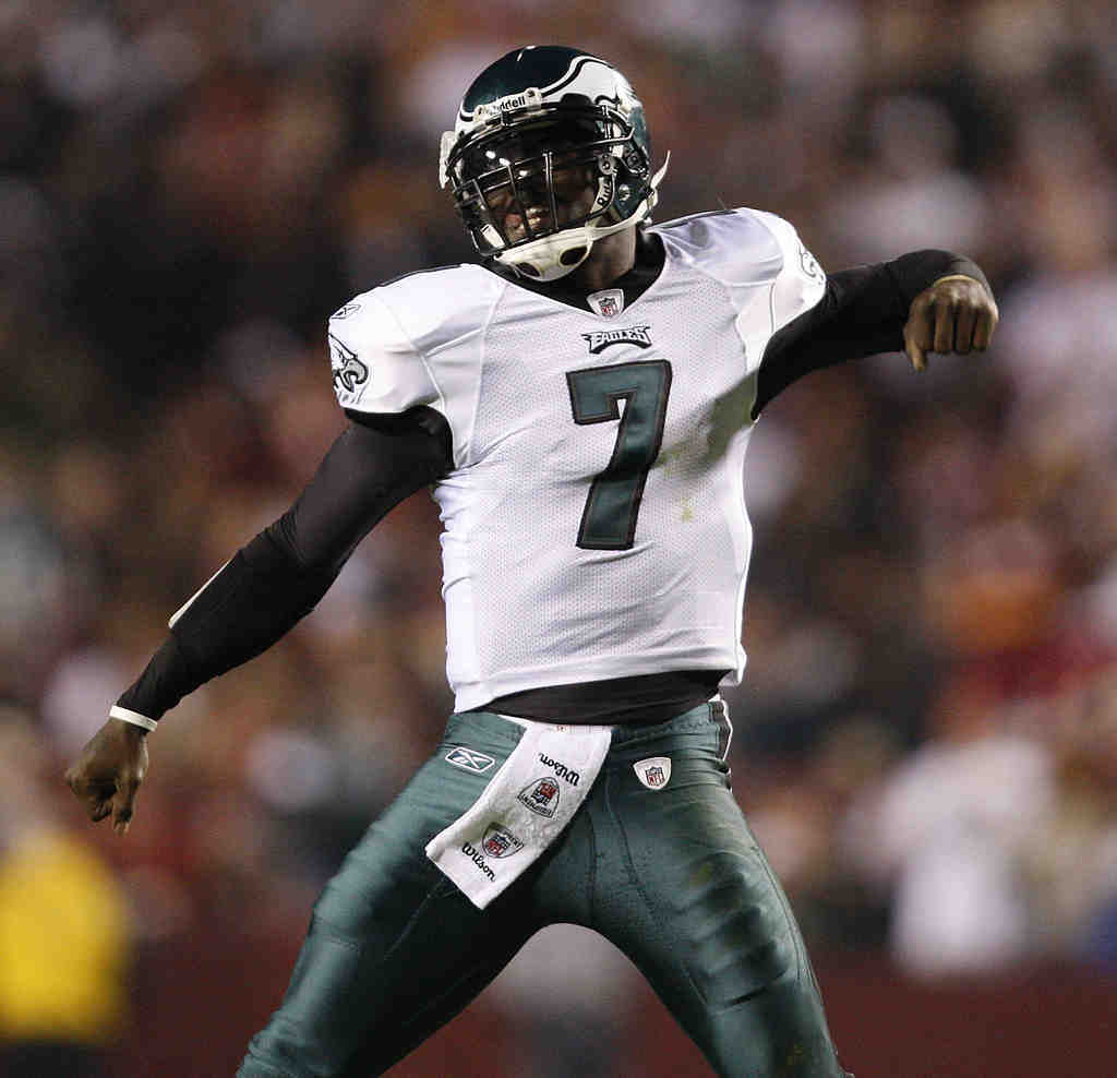 No doubt about it. If Eagles QB Michael Vick continues his stallar performace, he should win the league MVP hands down.