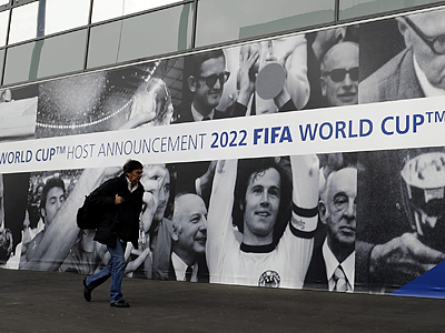 The United States lost in its bid to host the 2022 World Cup. (Walter Bieri/Keystone/AP)