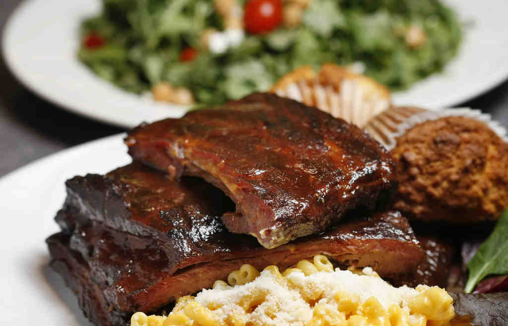 Ribs with mac 'n' cheese. The down-home dishes are back, and McDavid's old pal Bobby Flay is coming to do a star turn.