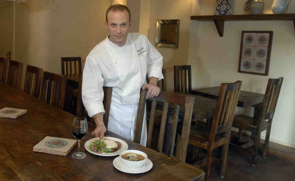 Chef Joe Scarpone´s Agiato was the last of the anticipated trio of dining enterprises to arrive, its opening long delayed by squabbles over closing hours. He came with impeccable credentials. But two days ago the story took an unexpected turn.