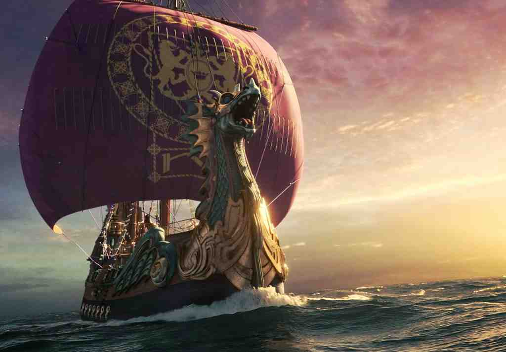 "It´s fantasy on the high seas in a scene from ""The Chronicles of Narnia: The Voyage of the Dawn Treader,"" the third film in the series."