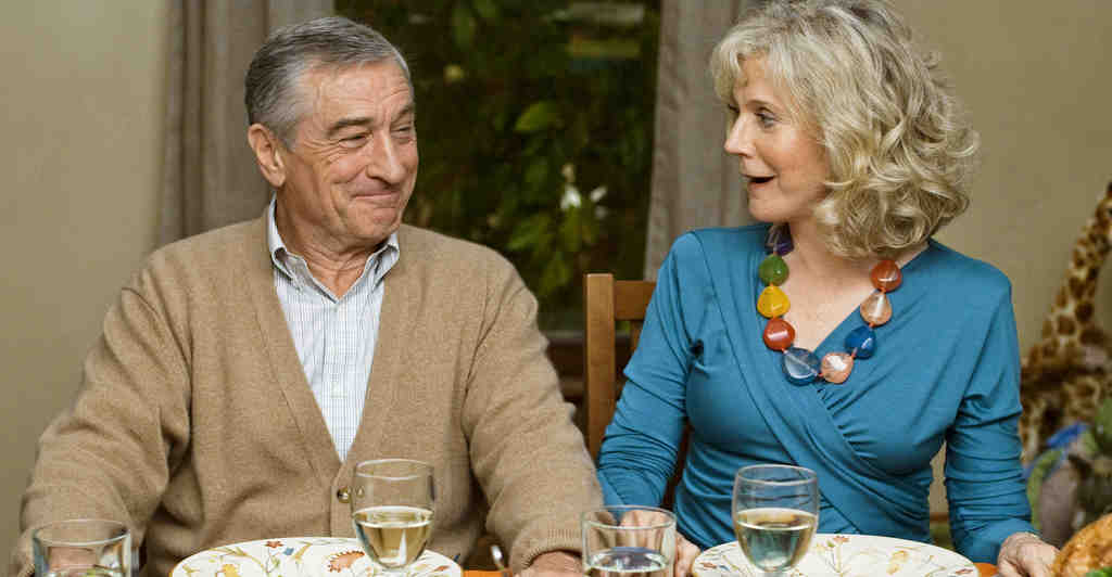 "Robert De Niro, Blythe Danner in the cringeworthy ""Little Fockers,"" third of the series."