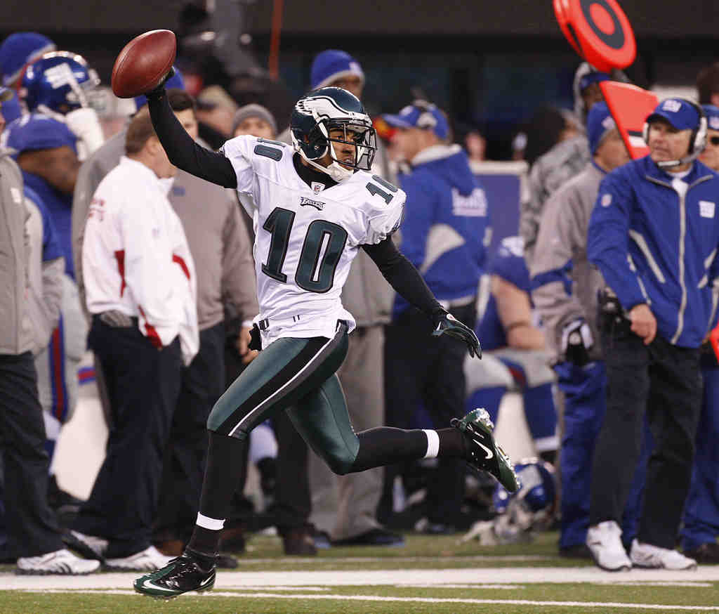 Dazzling players such as the Eagles´ DeSean Jackson has helped to make Philadelphia the center of the sporting world. If not the best, our pro teams are certainly the most entertaining.