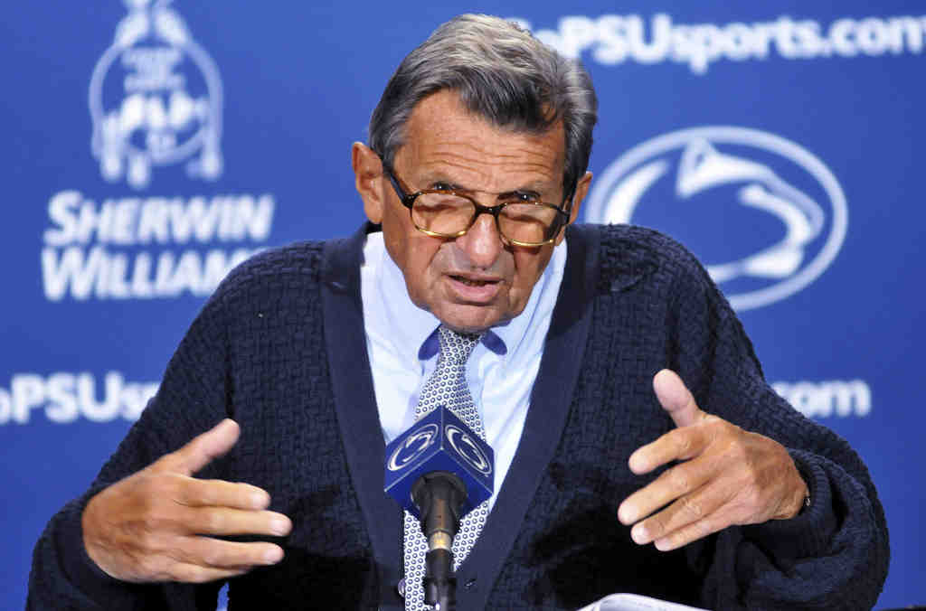 Penn State coach Joe Paterno says he is definitely not entertaining thoughts of retirement.