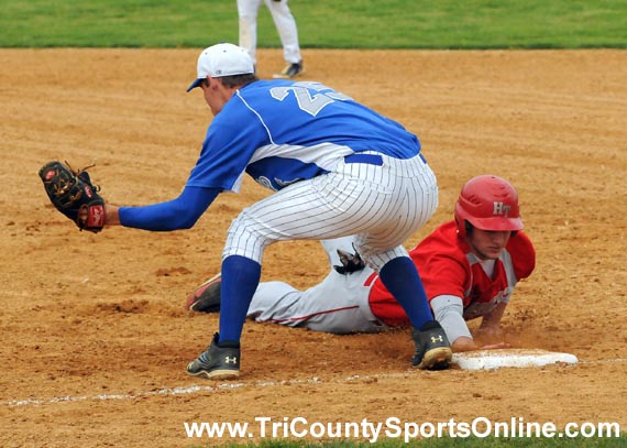 Colonial Conference Baseball: Haddon Township Hawks vs. Sterling Silver Knights