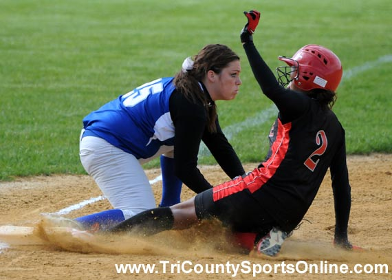 Olympic Conference Softball: Lenape Indians vs. Paul VI Eagles