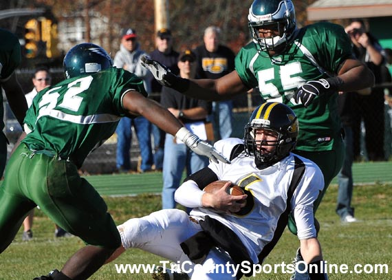 NJSIAA South Jersey Group III Football Playoffs: Winslow Township Eagles vs. Moorestown Quakers