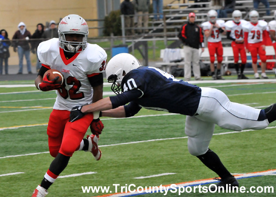 West Jersey League Football: Shawnee Renegades vs. Lenape Indians