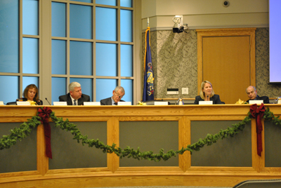 Lower Merion Township commissioners discuss potential uses of the $6.9 million from tax revenue.