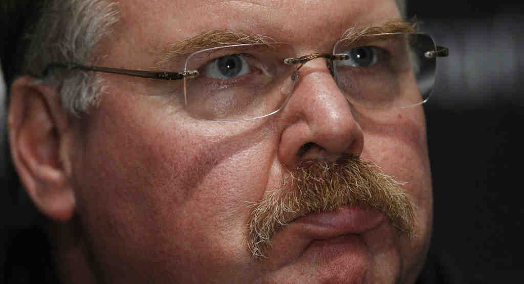 Would you buy a used car from Andy Reid? We´re not saying he lies, but he does tend to massage the truth when it suits his needs.