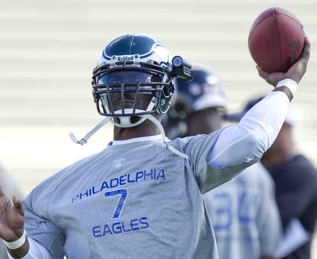 Eagles QB Michael Vick is staying in the presidential suite in Hawaii.