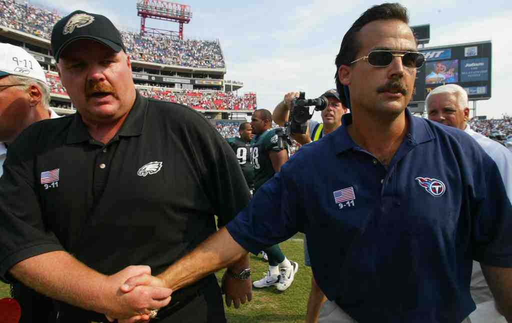 No Super Bowl wins in a combined 28 years : Andy Reid (12 and counting) and Jeff Fisher (16 and out).