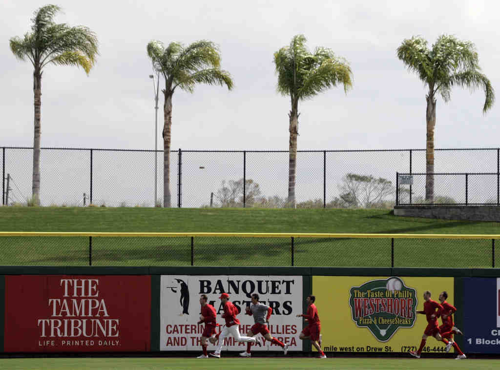 Phillies Nation will flock to charming Clearwater amid palm trees and Phillies´ workouts.