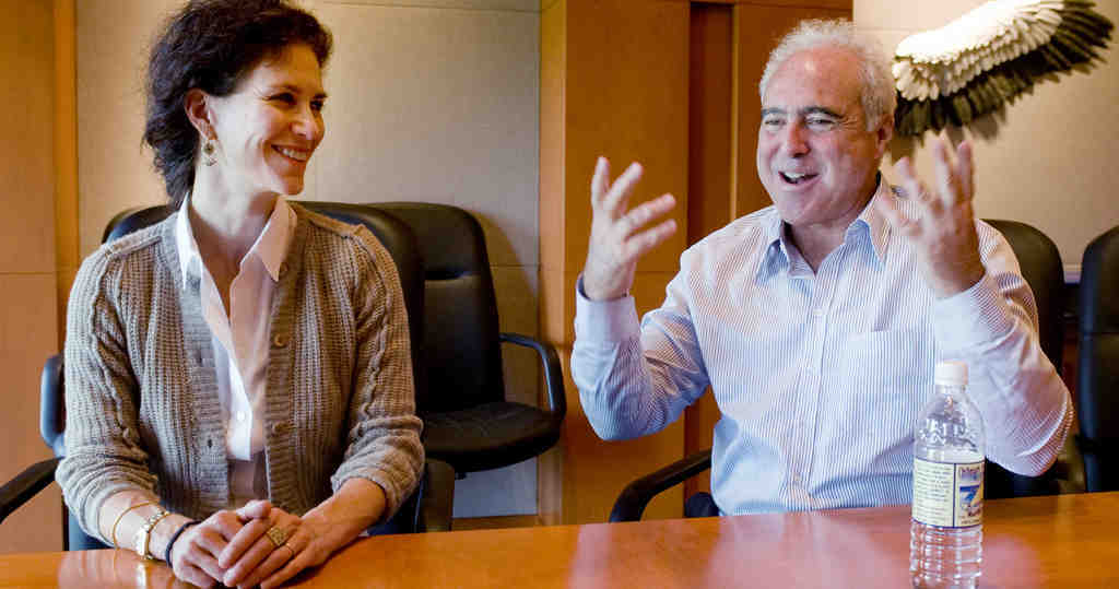 Christina and Jeff Lurie: Snubbed at Oscar show