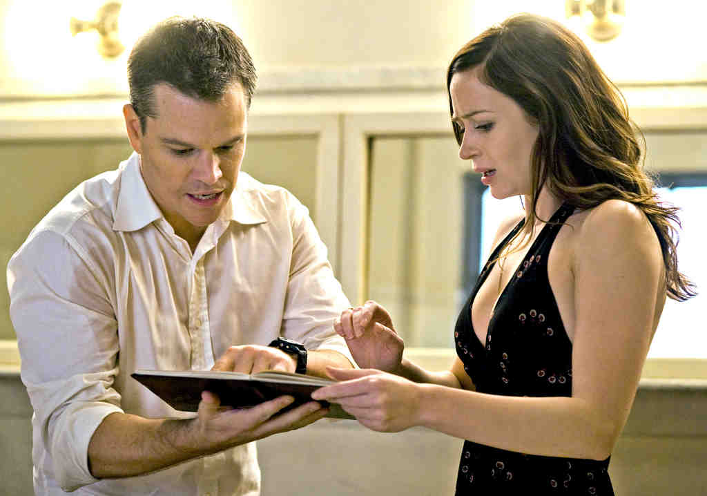 Matt Damon and Emily Blunt are two people who fall in love, but are informed that if they stay together, it will change the future.