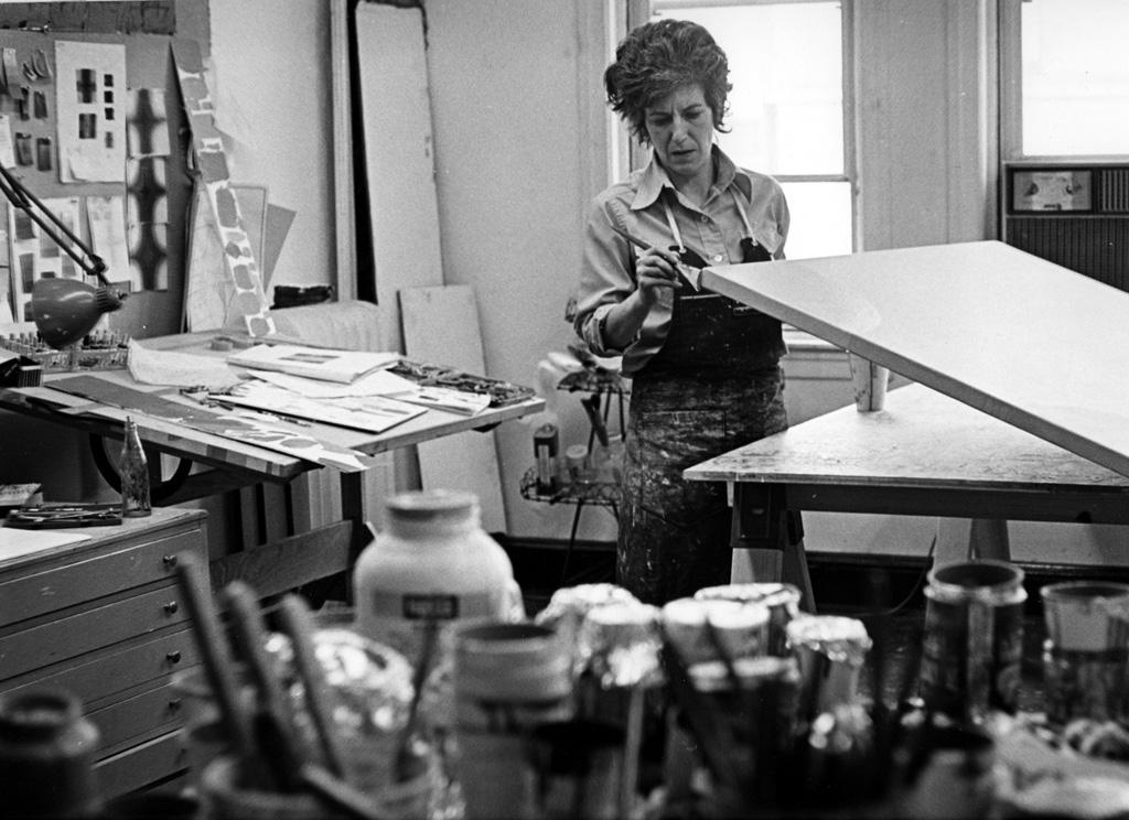 Elaine Kurtz in her studio.