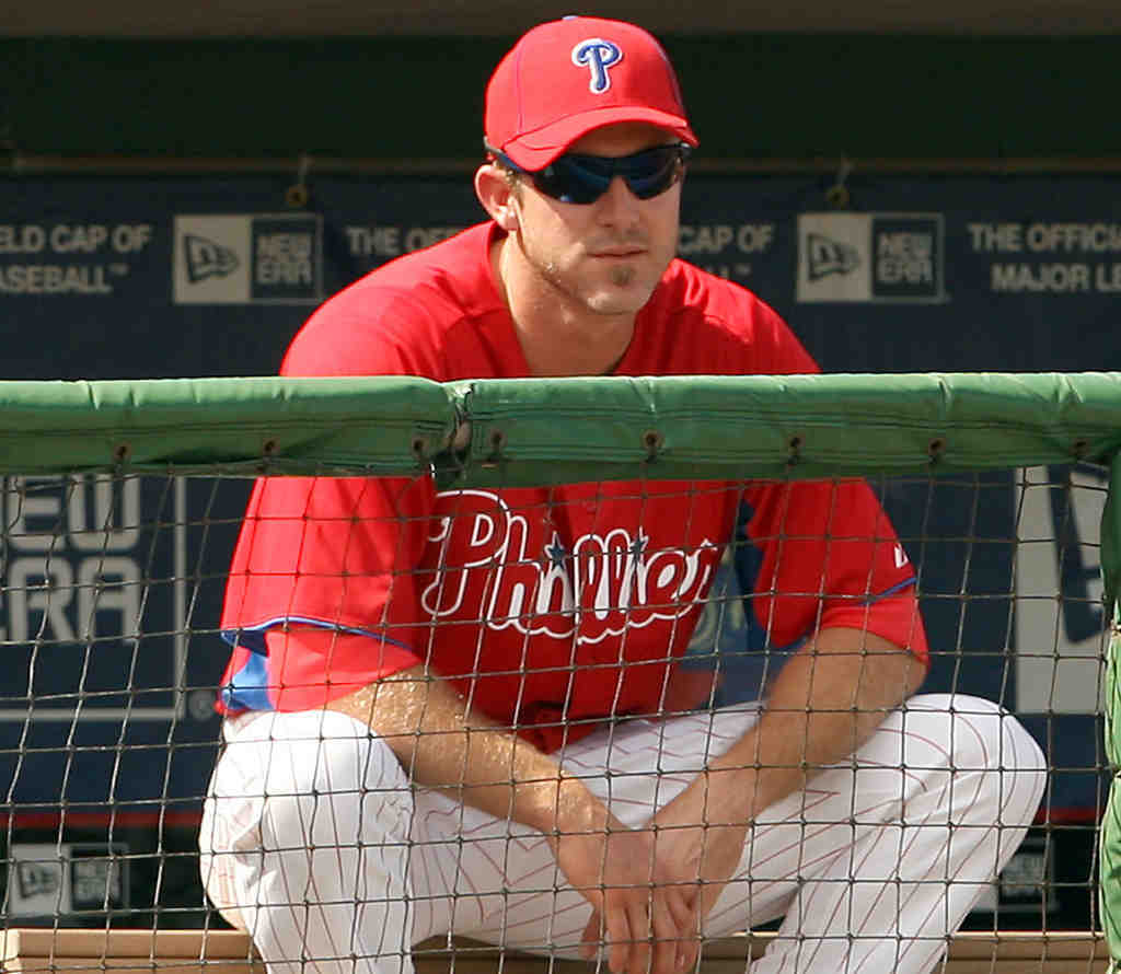 Chase Utley hasn´t played a game this year.