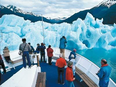 The 62-passenger Sea Bird gets into fiords such as Tracy Arm that larger cruise ships can't explore. (Sven-Olof Lindblad / Lindblad Expeditions)