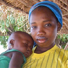 """Kelly Henkler, currently working in Africa, took this photo of a mother and child. <a href=""""http://www.philly.com/philly/gallery/118901944.html"""">For more images,<b> click here.</a></b>"""
