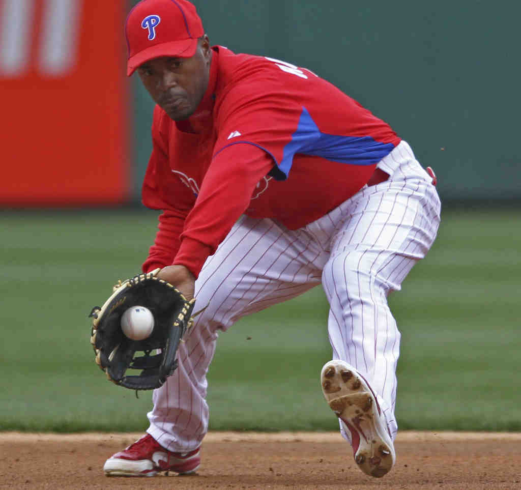 Shortstop Jimmy Rollins was a big part of getting the Phillies started on their recent path of greatness.