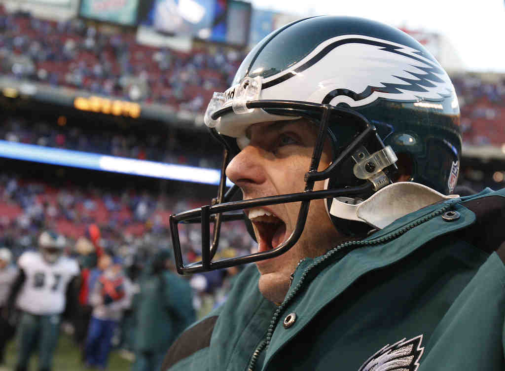 """""""When you´re not employed or know where you´re going to live or who you´re going to be playing for, it adds up,"""" said David Akers of his finances. He said he´d like to remain an Eagle if he can get a long-term deal."""
