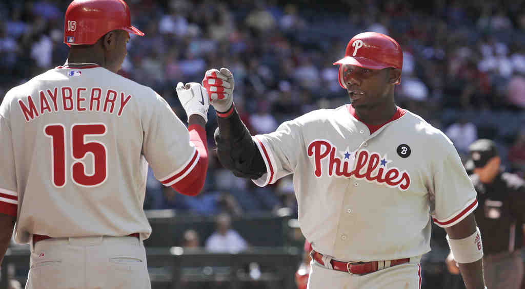 Ryan Howard can be expected to heat up somewhat.
