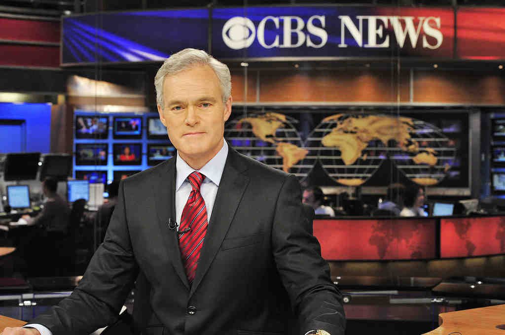 Scott Pelley´s inaugural newscast was Monday. He succeeds Katie Couric.