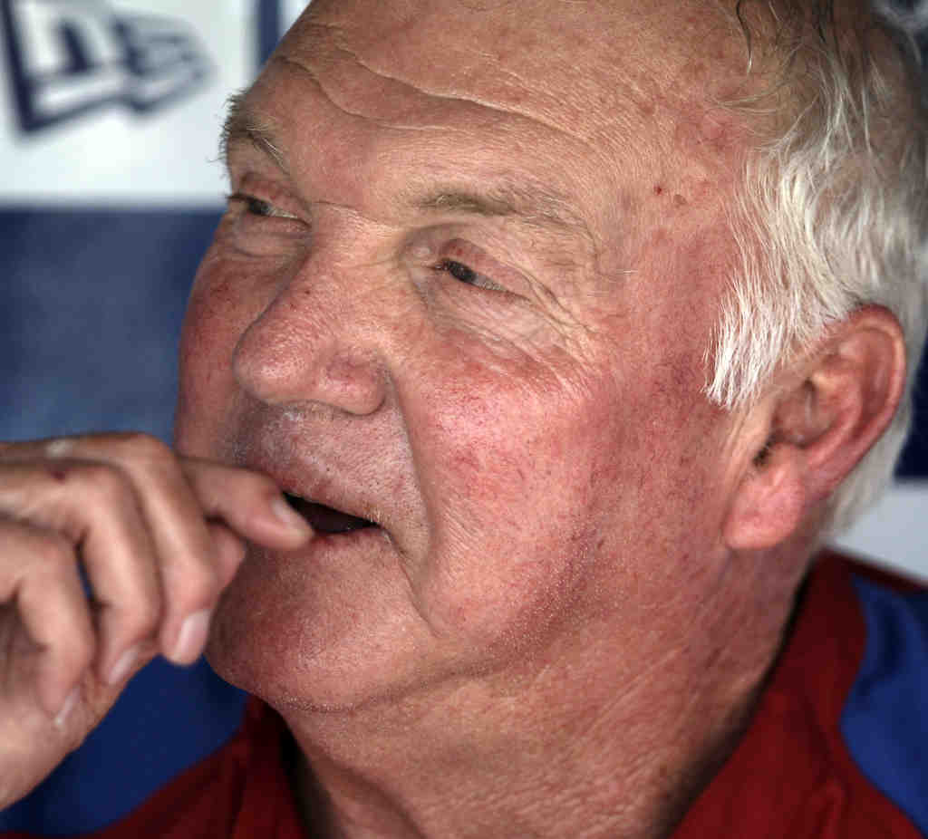 Charlie Manuel on hitters: ´You can say whatever you want. But they´ve got the wood in their hand.´