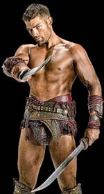 Spartacus: A new gladiator is in town. (Starz)