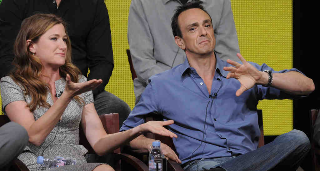 """Stars Kathryn Hahn and Hank Azaria talk about """"Free Agents,"""" one of three new comedies coming this fall from the network."""