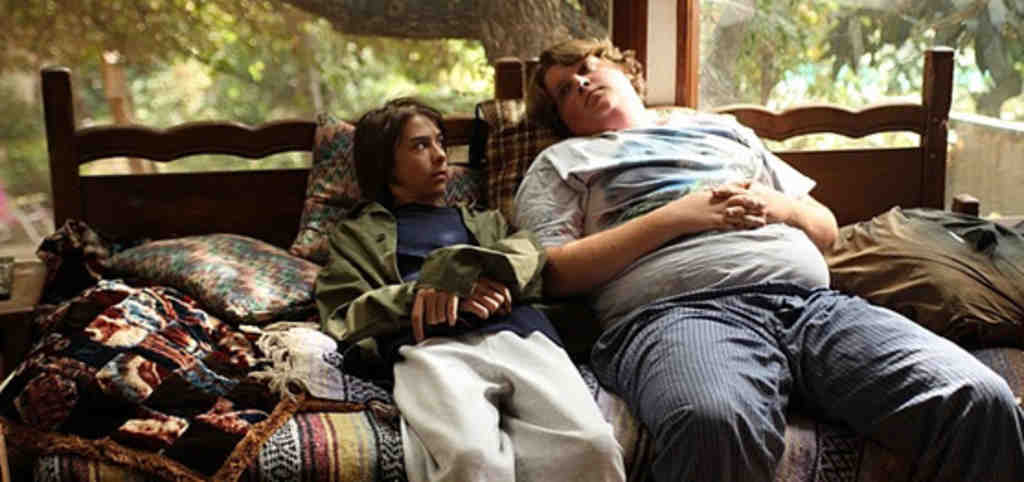 Jacob Wysocki (right) plays Terri in a remarkable film debut, with Bridger Zadina as Chad.