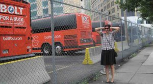 Debbie Rudman: Driven crazy by the noise at the bus facility.