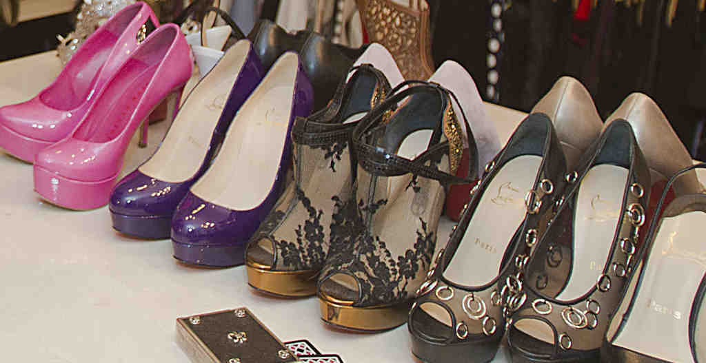 Shoes for the well-heeled. For many consumers of ultra-luxury goods, high price has become the object.
