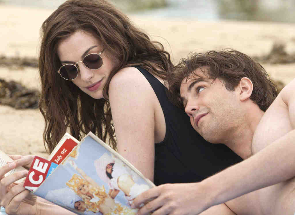 """In """"One Day,"""" Anne Hathaway is Em and Jim Sturgess is Dex, characters reduced to stereotypes of lovelorn scrapper and posh heartbreaker."""