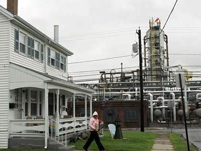 The Sunoco refinery in Marcus Hook has been a mainstay on the Delaware River for more than a century. Also up for sale is the refinery on the Schuylkill in South Philadelphia. Analysts questioned whether Sunoco could find a buyer.