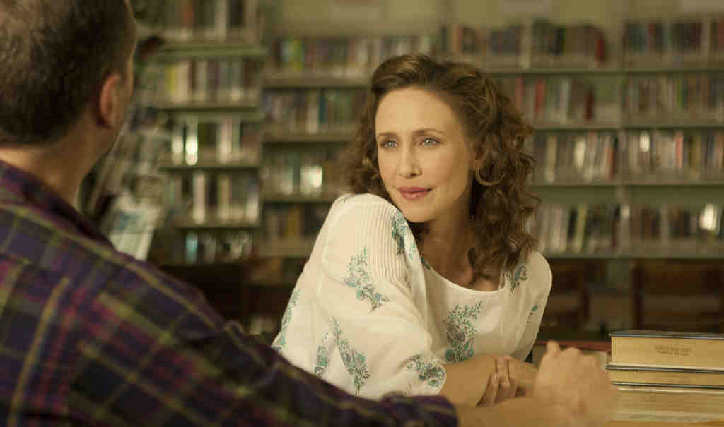 """Vera Farmiga in """"Higher Ground."""" Besides playing the role of the adult Corinne Walker, Farmiga also directs the movie."""